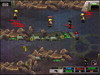 התקפת הזומבים - Monster Flood