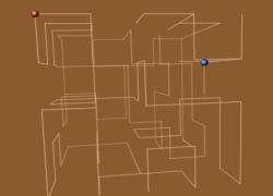 3D Maze - מבוך תלת מימדי