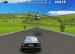 Action Driving Game - נהיגת אקשן