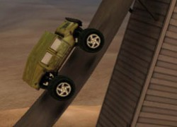אתגר המשאיות המפלצתיות Monster Truck Challenge
