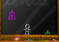 מחיצות בלוח - Blackboard Squash