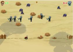 פלישת הזומבי - Zombie Invaders
