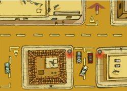 מרוץ מכוניות בשכונה - Traffic