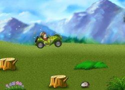 מכוניות מרוץ קופים - Monkey Kart
