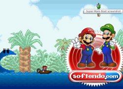 סופר מריו סירות - Super Mario Boat