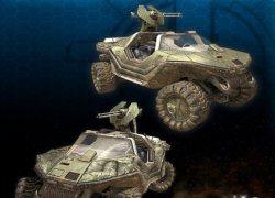 מרוצי האמרים - Halo Racing Game
