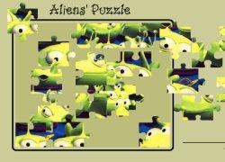פאזל חייזרים - Alien Puzzle
