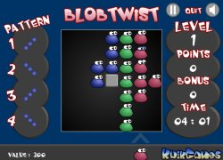 בלוב סיבובים - Blob Twist