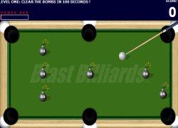 בילארד פצצות - Blast Billiards
