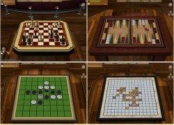 אוסף משחקי לוח תלת מימדיים 2.1