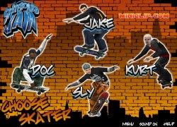 סקייטבורד ג'אם - Skateboard Jam