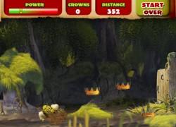 שרק המחליק - Shrek and slide
