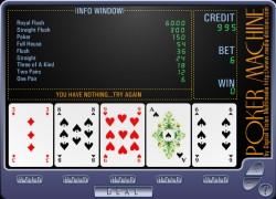 מכונת הפוקר - Poker Machine