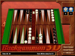 Backgammon 3D - שש בש