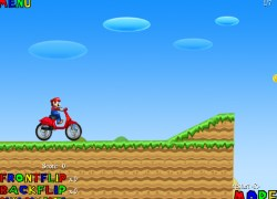 סופר מריו אופנועים - Mario Motorbike
