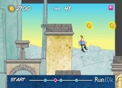 קופץ הגגות - Rooftop Runner