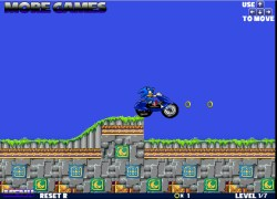 סוניק על אופנוע - Super Sonic Motorbike 3