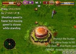 הגן על ההמבורגר - The ReD MonsteRRR