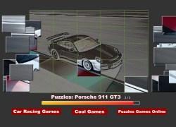 פאזל פורשה 911 - Puzzles Porsche 911 GT3