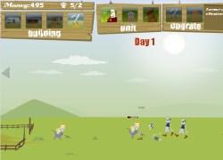 חוואי נגד זומבי - Farmer vs Zombies