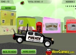 ליווי משטרתי - Police Truck