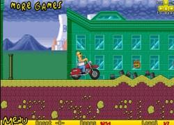 להומר נגמרה הבירה - Homer Motorbike