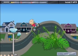 סטואי על אופניים - Stewie Bike