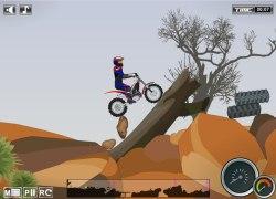 אופנועים במדבר - Moto Trial Fest 2: Desert Pack
