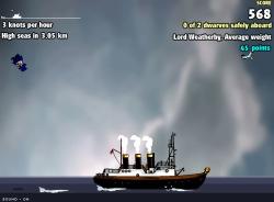 גמד על הרציף -  Dwarf on a wharf