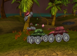 טנקים תלת מימד - 3D Tanks