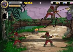 Foot Ninja II - נינג'ה