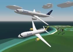 סימולטור טיסה - YS Flight Sim