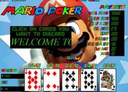 מריו פוקר וידאו - Mario Video Poker