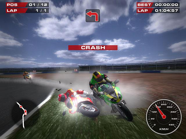 מרוץ אופנועים - Superbike Racers