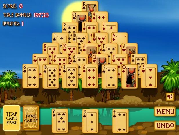 סוליטייר פירמידה - Pyramid Solitaire