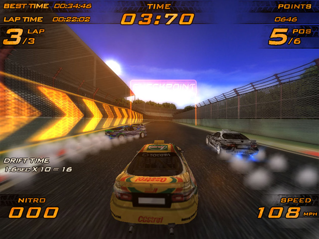 Nitro Racers - nitro game