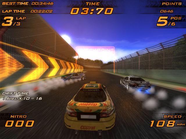 Nitro Racers - nitro game