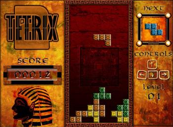 טטריס עתיק - Tetrix Egyptian